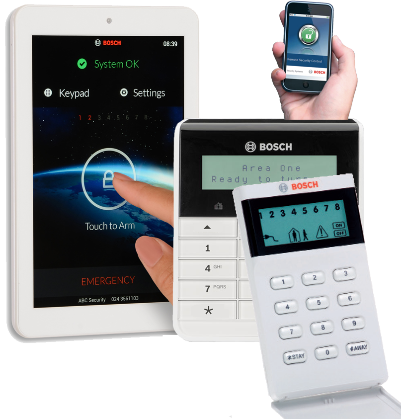 Bamss - Bosch - Home Alarm System Package Brisbane