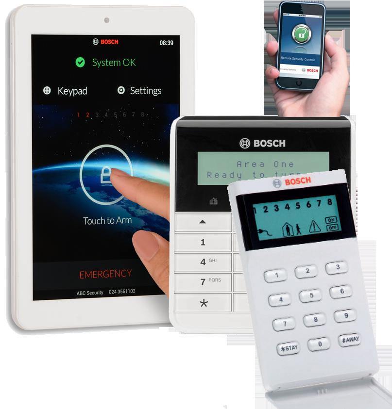 Bamss - Bosch - Home Alarm System Package Brisbane